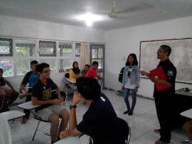 An interactive English class 2